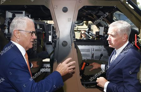Malcolm Turnbull and Chris Jenkins