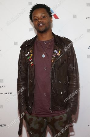 BJ The Chicago Kid attends the Universal Music Group's 2018 After Party for the Grammy Awards presented by American Airlines and Citi on in New York