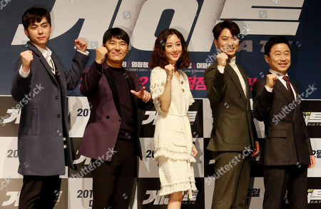Stock Picture of Kim Do-hoon, Lim Chang-jung, Jung Ryeo-won, Chung Sang-hoon and Lee Mun-sik