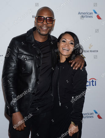 Dave Chappelle and wife Elaine Chappelle
