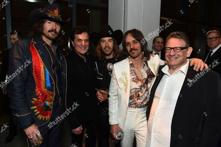 Scott Borchetta, Sir Lucian Grainge, Midland. Scott Borchetta and Chairman and CEO of UMG Sir Lucian Grainge with Midland at the Universal Music Group's 2018 After Party to celebrate the Grammy Awards presented by American Airlines and Citi on in New York