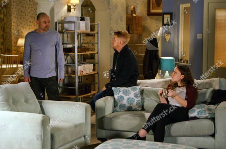 Ep 9366 Monday 29 January 2018 - 2nd Ep As Faye Windass, as played by Ellie Leach, gets increasingly upset Gary Windass, as played by Mikey North, tells her that Seb has been in touch and is ok. Tim Metcalfe, as played by Joe Duttine, suggests to Faye that they go away for a while.