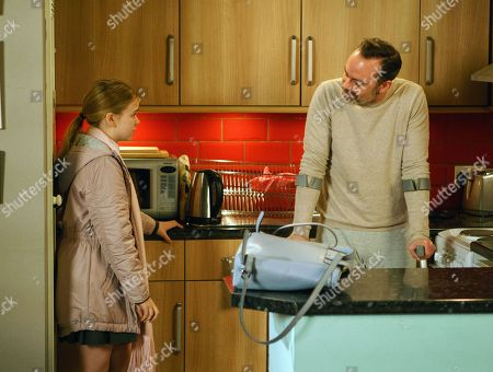 Ep 9375 Friday 9 February 2018 - 1st Ep Worried about Billy Mayhew, as played by Daniel Brocklebank,, and determined to look after him without Adam's help, Summer, as played by Matilda Freeman, misses Amy's party to stay at home with Billy.