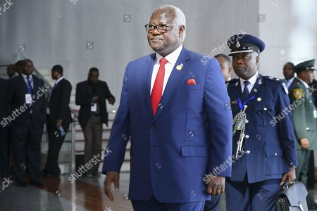 President of Sierra Leone Ernest Bai Koroma arrives at the 30th Ordinary Session of the African Union (AU) Summit in Addis Ababa, Ethiopia, 29 January 2018. President of Rwanda Paul Kagame has officially taken over as the new Chairman of the African Union on 29 January. African leaders and the United Nations Secretary-General Antonio Guterres will discuss politcal and security issues under the theme 'Winning the Fight against Corruption: A Sustainable Path to Africa's Transformation'.