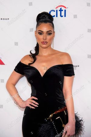 Anabelle Acosta attends the Universal Music Group's Grammy after party at Spring Studios, in New York