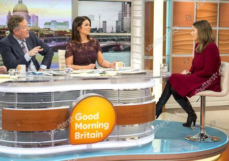 Piers Morgan, Susanna Reid and Laura Bates