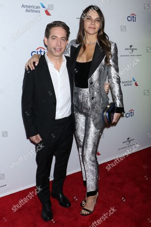 Stock Picture of Charlie Walk, President of Republic Records and Lauran Walk