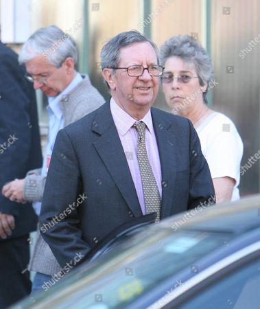 Peter Hill-wood Arsenal Chairman.  Arsenal Board Meeting At The Emirates Stadium Highbury House.   Peter Hill Wood