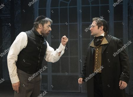 Robert Cuccioli as Mayer Rothschild, Gary Trainor as Nathan