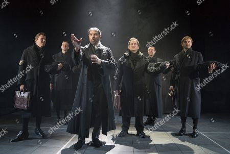 Editorial photo of 'Rothschild & Sons' PLay performed at The Park Theatre, London, UK, 29 Jan 2018