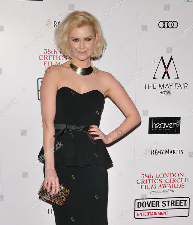 Editorial picture of Critic's Circle Film Awards, Arrivals, London, UK - 28 Jan 2018