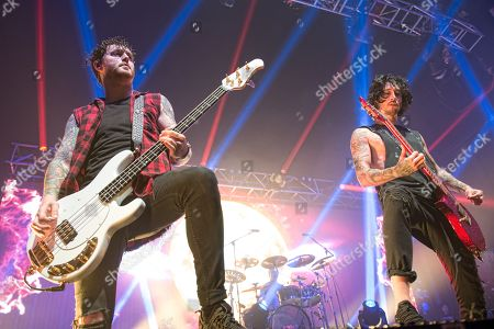 Stock Photo of Asking Alexandria - James Cassells, Cameron Liddell, Sam Bettley