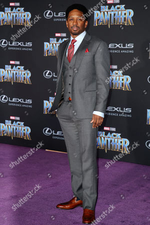 Editorial picture of 'Black Panther' film premiere, Arrivals, Los Angeles, USA - 29 Jan 2018
