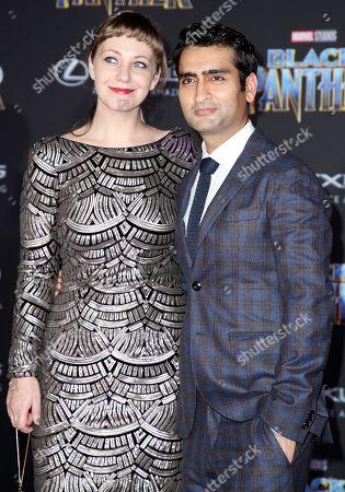 Emily Gordon and Kumail Nanjiani