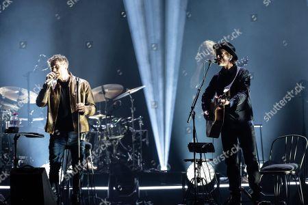 Editorial image of A-ha in concert in Berlin, Germany - 29 Jan 2018