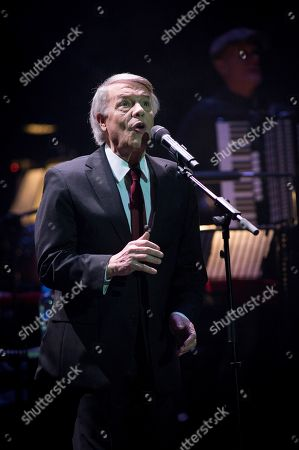 Editorial photo of Salvatore Adamo in concert in Madrid, Spain - 29 Jan 2018