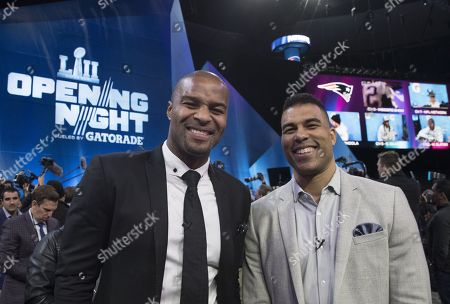 The BBC NFL Show's Osi Umenyiora and Jason Bell