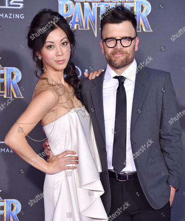Stock Picture of Brittany Ishibashi and Kevin Weisman