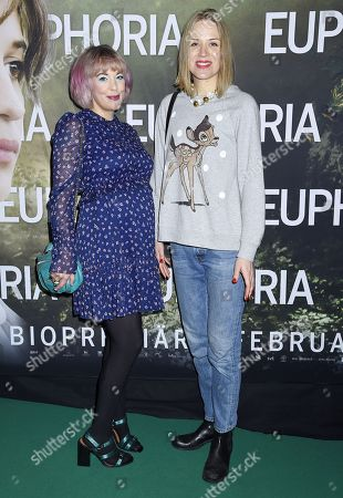 Editorial image of 'Euphoria' gala film premiere, Biograf Rigoletto, Stockholm, Sweden - 29 Jan 2018