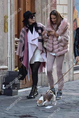 Raffaella Modugno and friend