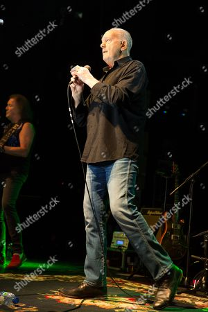 Editorial image of Roger Chapman in concert, O2 Academy, Newcastle, UK - 18 Jan 2018