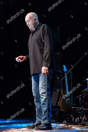Editorial photo of Roger Chapman in concert, O2 Academy, Newcastle, UK - 18 Jan 2018