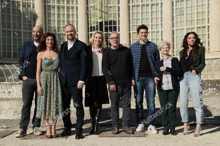 The screenplayer Nicola Guaglianone, Marta Bulgherini, Massimo Popolizio, Stefania Rocca, the director Luca Miniero, Frank Matano, Ariella Reggio, Eleonora Belcamino