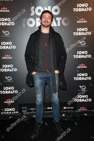 Editorial photo of 'Sono Tornato' film premiere, Rome, Italy - 29 Jan 2018