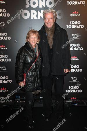 Editorial picture of 'Sono Tornato' film premiere, Rome, Italy - 29 Jan 2018