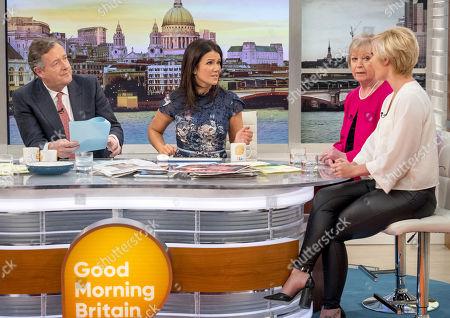 Piers Morgan, Susanna Reid, Jean Broke-Smith and Amy Nickell