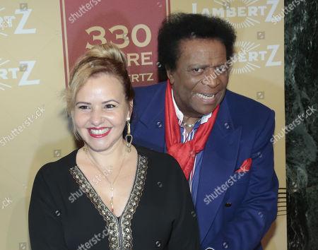 Stock Photo of Roberto Blanco and Luzandra Strassburg