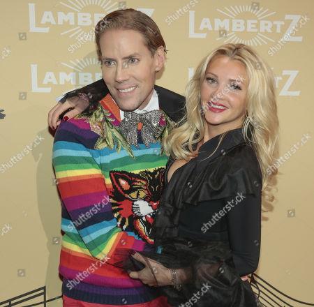 Jens Hilbert and Evelyn Burdecki