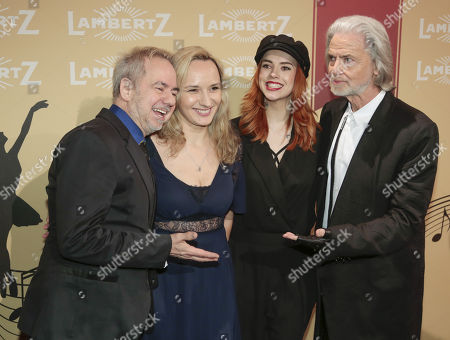 Helmut Zerlett, Natallia Zerlett, Tochter Jana and Hermann Bühlbecker