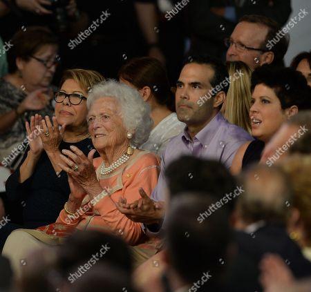 Barbara Bush, George P. Bush