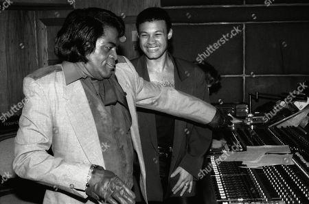 James Brown and Narada Michael Walden