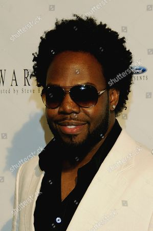 Editorial image of Celebrity Arrivals For 8th Annual Ford Hoodie Awards Hosted by Steve Harvey at Mandalay Bay Events Center in Las Vegas, Nv On August 28, 2010