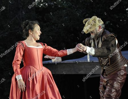 'Much Ado About Nothing'  - Samantha Spiro (Beatrice) and Sean Campion (Benedick)