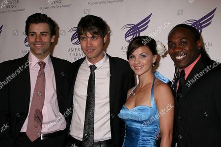 Adam Fiorentino, Drew Seeley, Chelsea Morgan Stock, Rogelio Douglas Jr