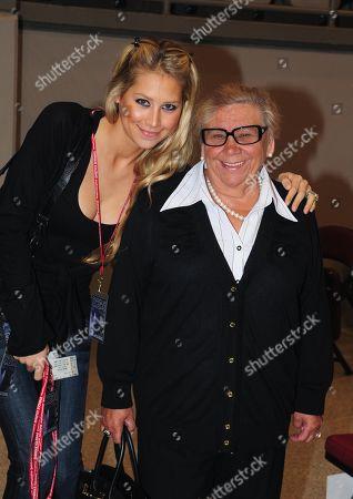 Anna Kournikova & Her Grandmother