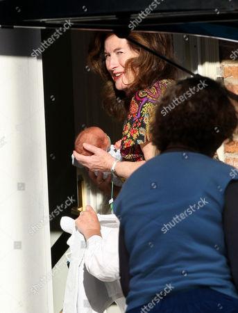Elizabeth Adeney with Jolyon