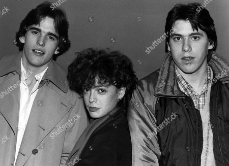 Matt Dillon Pamela Ludwig & Michael Kramer at the Opening Night of a One Week Engagement For Their Film Over the Edge at the Public Theatre in New York City Originally Made in 1979 the Film Was Part of the Theatre's Unreleased Film Series December 18 1981
