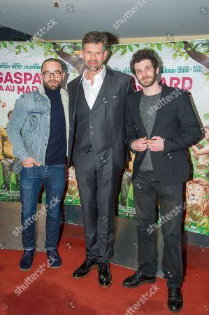 Guillaume Gouix, Johan Heldenbergh and Felix Moati