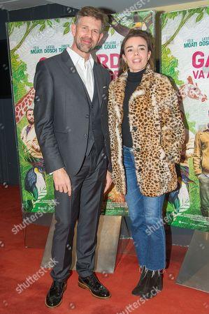 Johan Heldenbergh and Elodie Bouchez