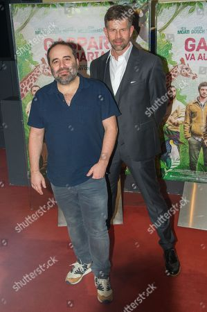 Stock Image of Director Antony Cordier and Johan Heldenbergh