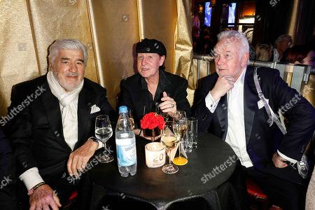 Mario Adorf, Klaus Meine (Scorpions), Wolfgang Kubicki, Martin Krug