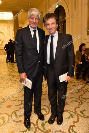 Maurice Levy and Jack Lang