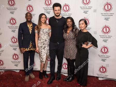Editorial photo of Critics' Circle Theatre Awards, Press Room, London, UK - 30 Jan 2018