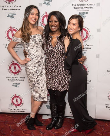 Stock Photo of Christine Allado, Rachel John and Rachelle Ann Go