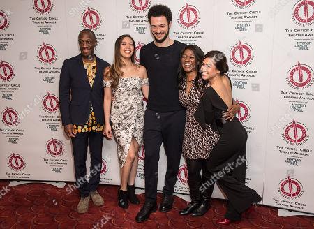 Editorial image of Critics' Circle Theatre Awards, Press Room, London, UK - 30 Jan 2018