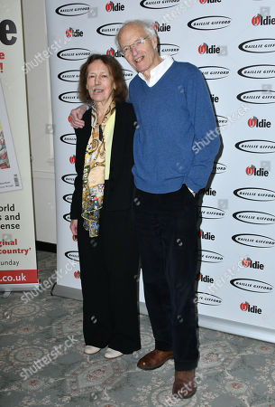 Stock Photo of Claire Tomalin, Michael Frayn